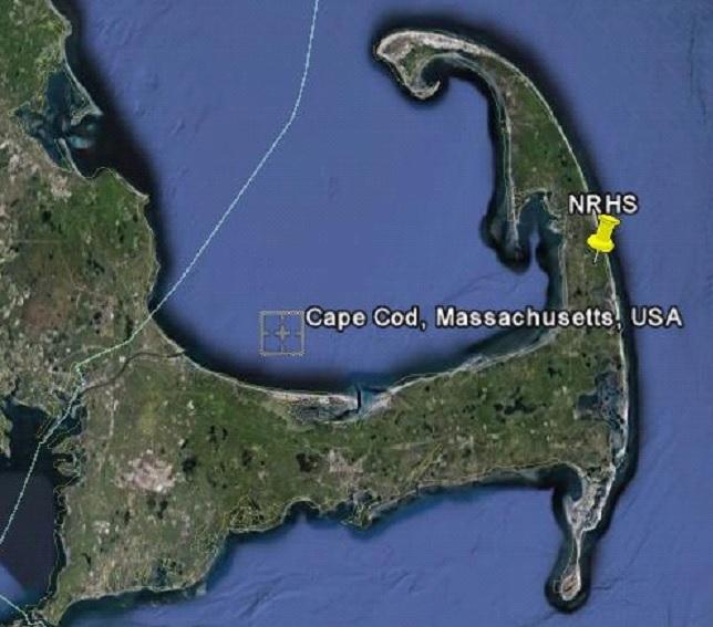 USA Cape Cod Karte